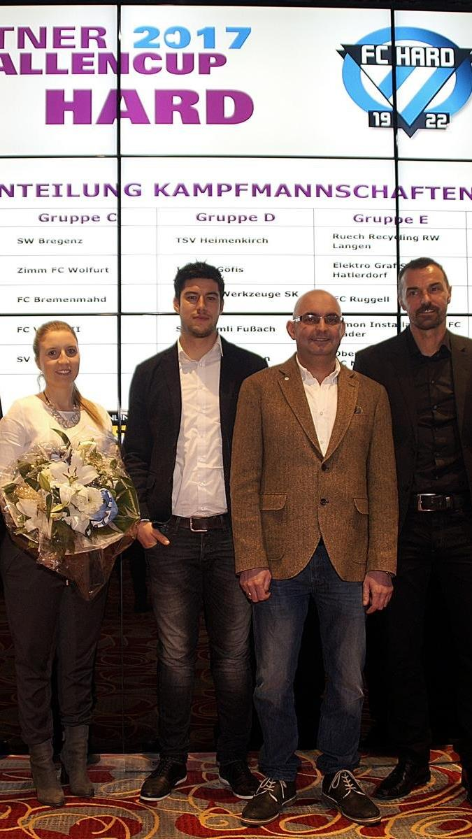 Die Auslosung für den Forstner Seehallencup erfolgte im Spielcasino Bregenz