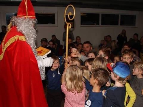 Der Nikolaus im Klubheim