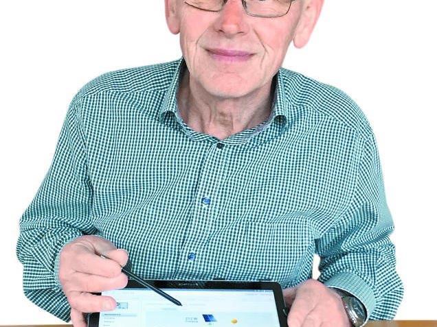 Karl Heinzle (69), Techniker, Solaraktivist, Pensionist aus Zwischenwasser