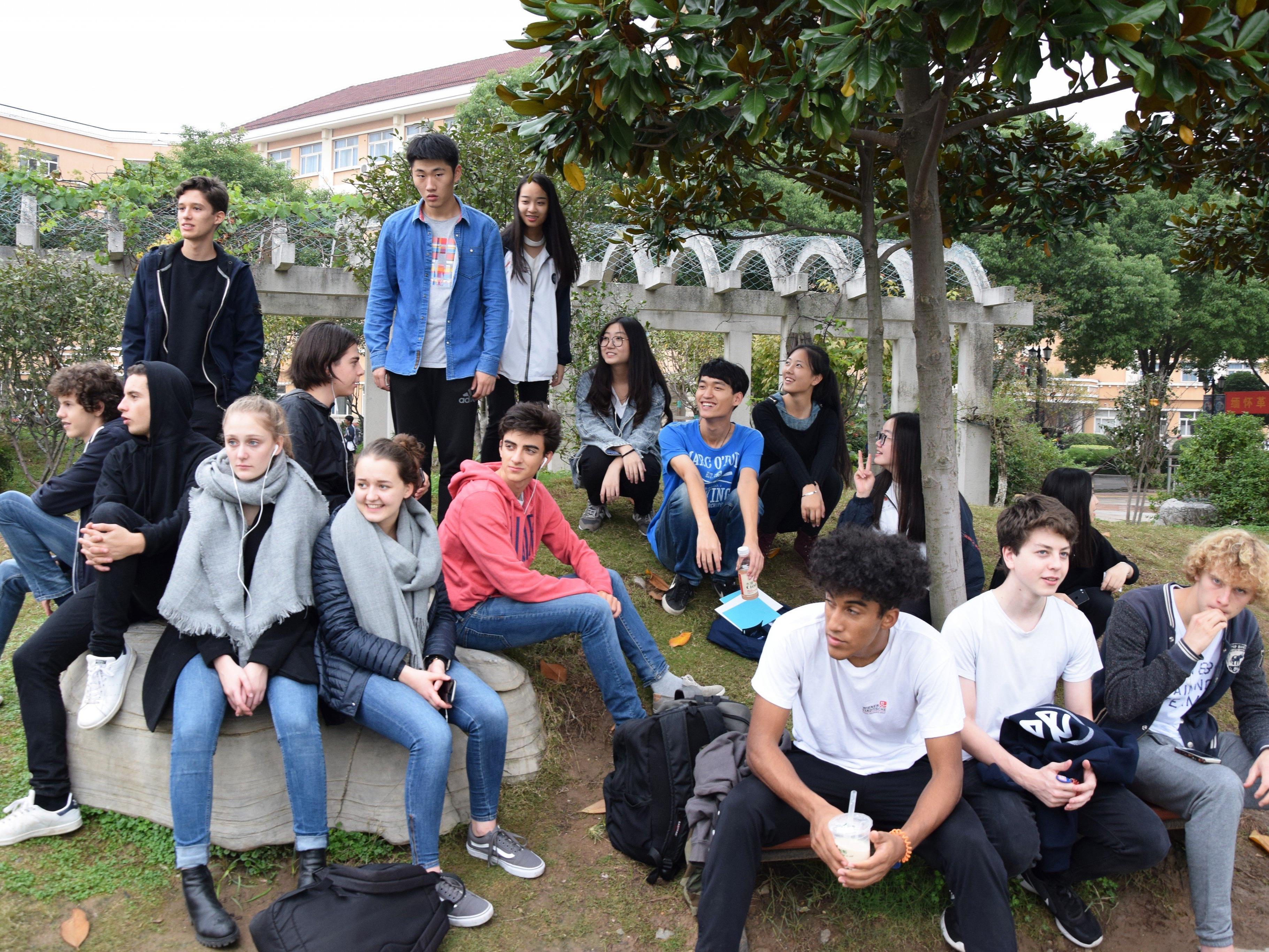 Eindrücke aus China gibt es beim Präsentationsabend der Schüler am 20. Jänner im Festsaal des BG Dornbirn.