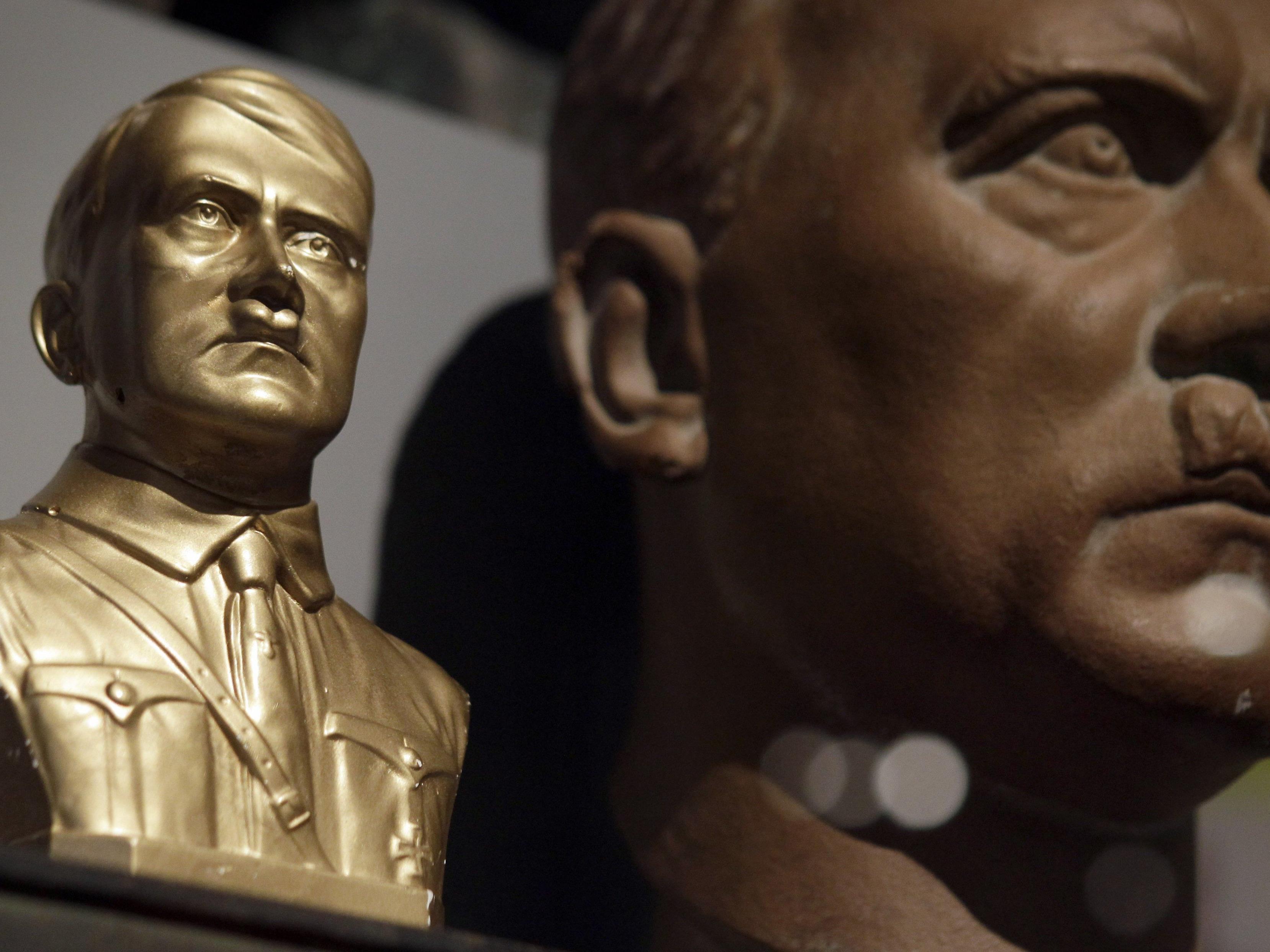 """Auf einer geheimen Aufnahme soll Hitlers """"private"""" Stimme zu hören sein."""