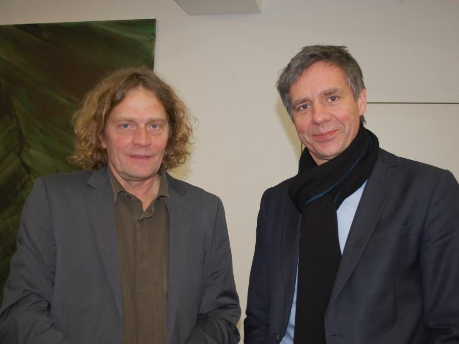 Die Vernissagerede zur Winterausstellung hielt Thomas Trummer vom Kunsthaus Bregenz.