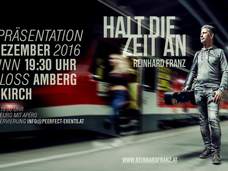Reinhard Franz auf Schloss Amberg- ©  PEERfect Events