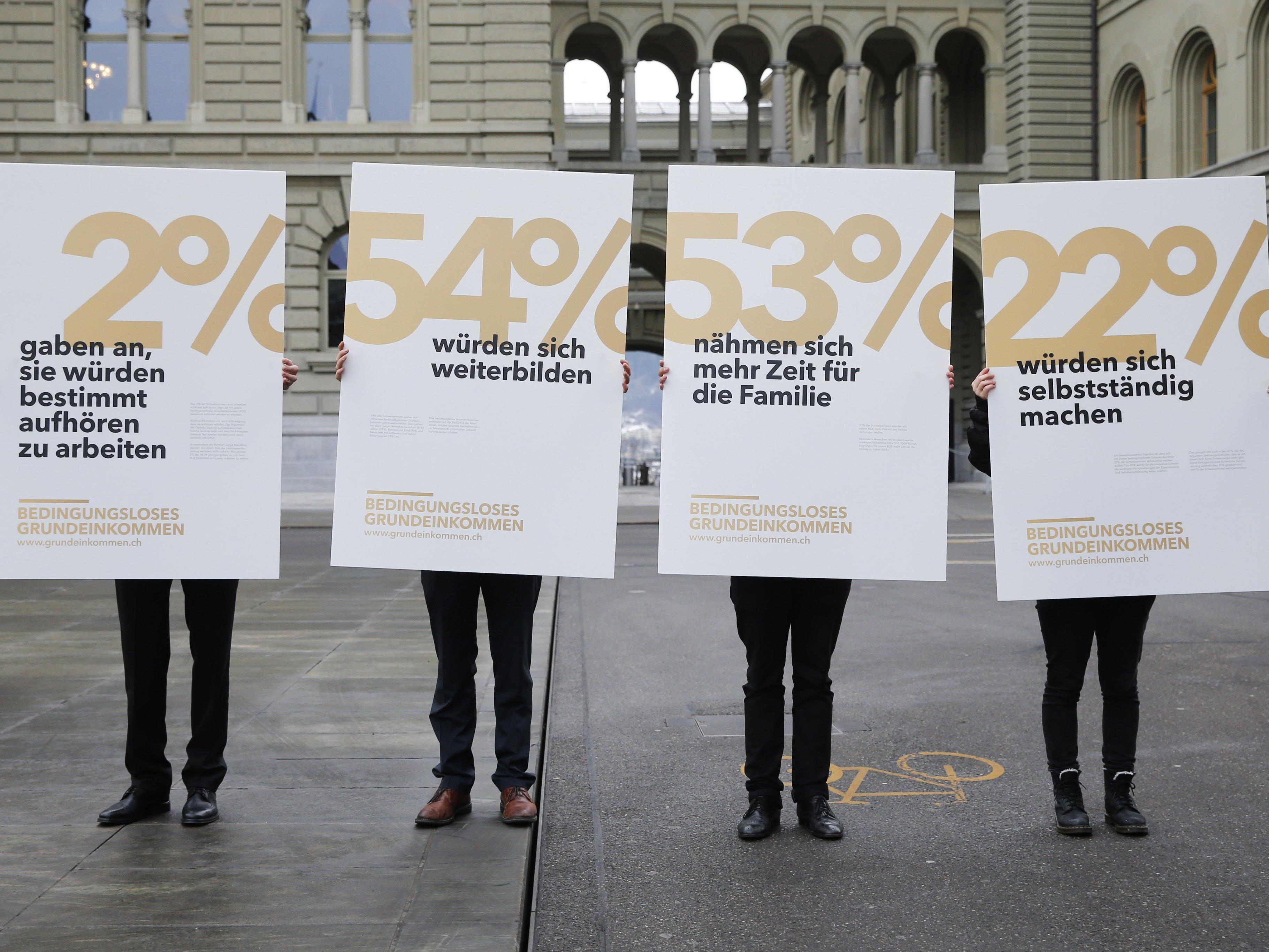 In der Schweiz haben die Wähler ein bedingungsloses Grundeinkommen abgelehnt.