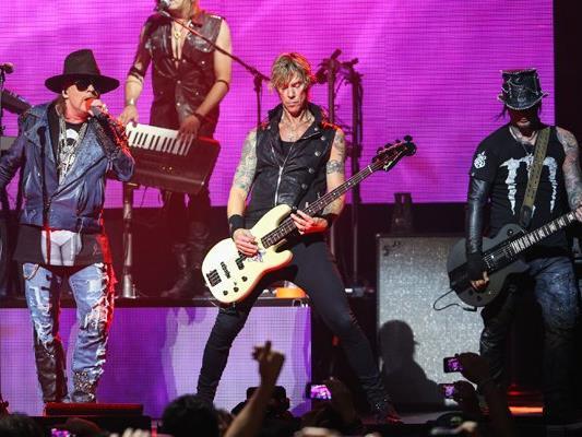 Guns N' Roses sind nur eines der Konzert-Highlights 2017.