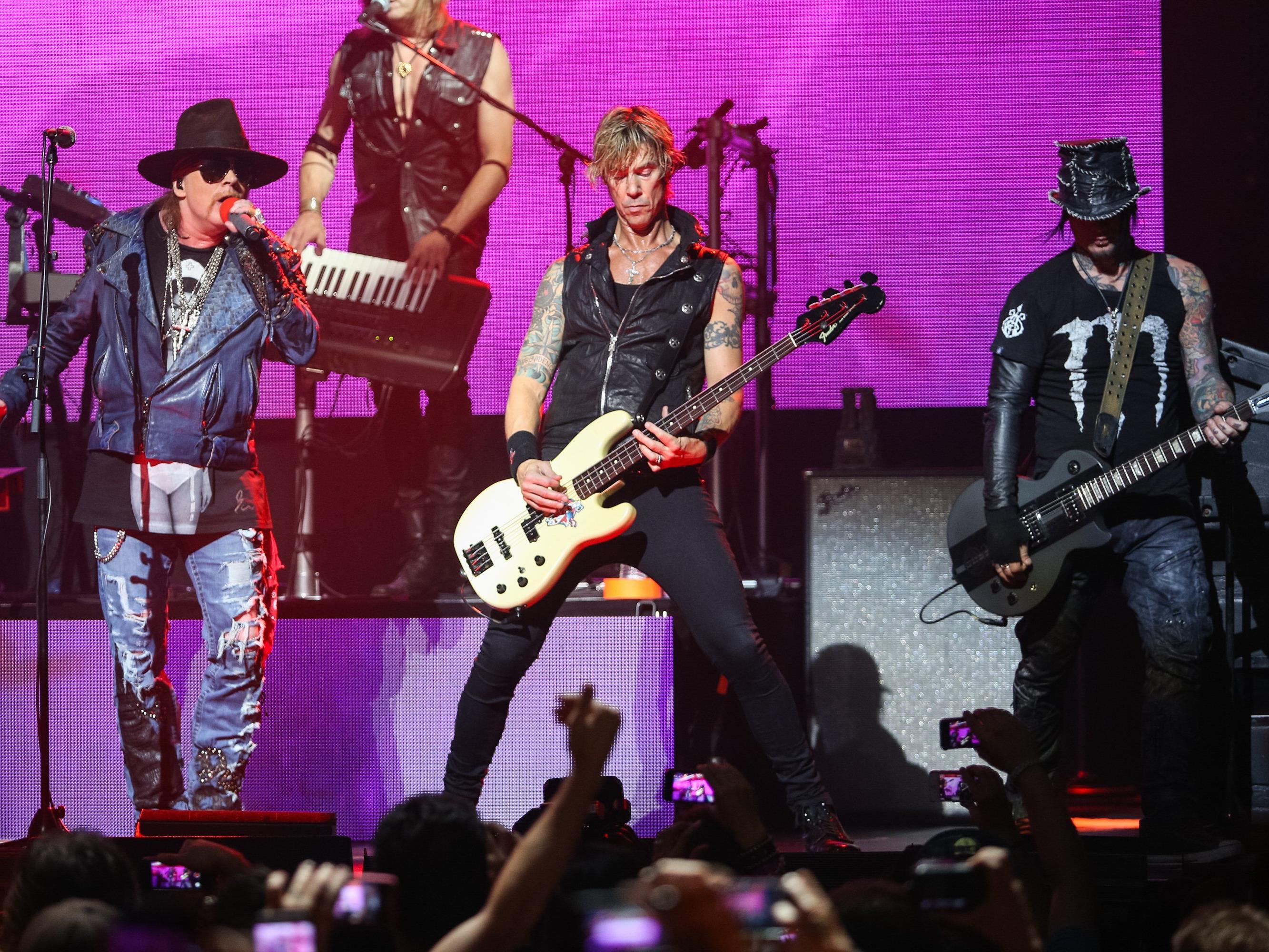 Guns 'N Roses kommen im Juni 2017 nach Zürich.
