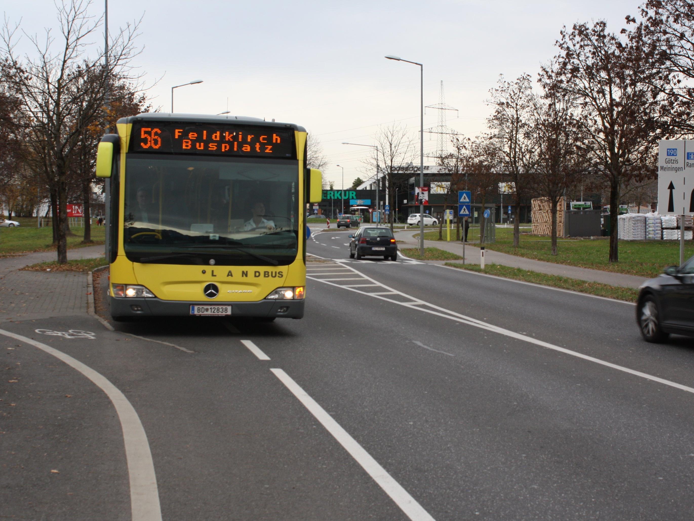Die neue Linienführung des 56-er-Busses sorgt nach wie vor für Unmut bei so manchen Fahrgästen.