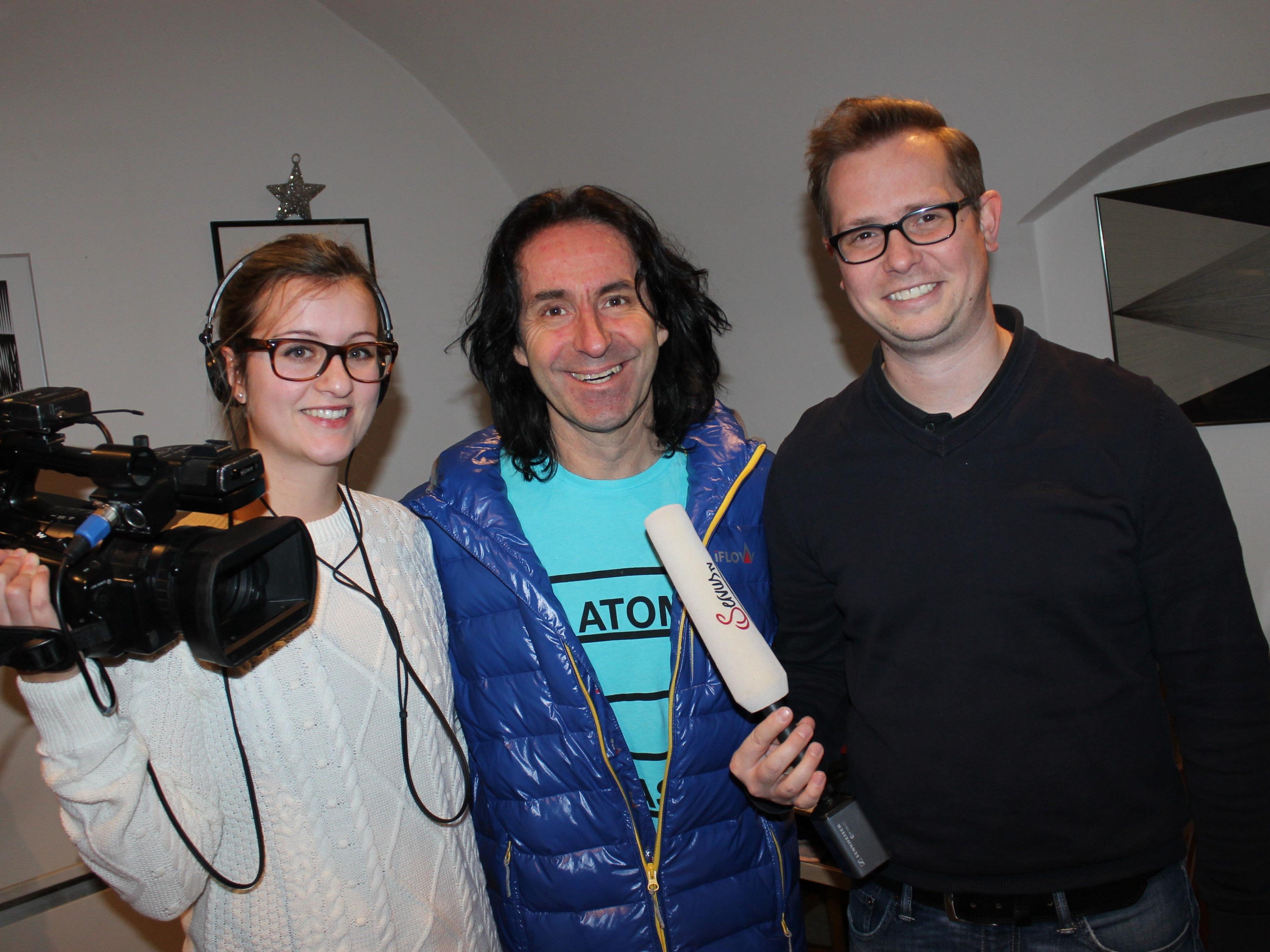 ServusTV Kamerafrau Martina Kathan und Redakteur Philipp Vondrak produzierten mit Stunde des Herzens einen bundesweit abgestrahlten Fernsehbeitrag