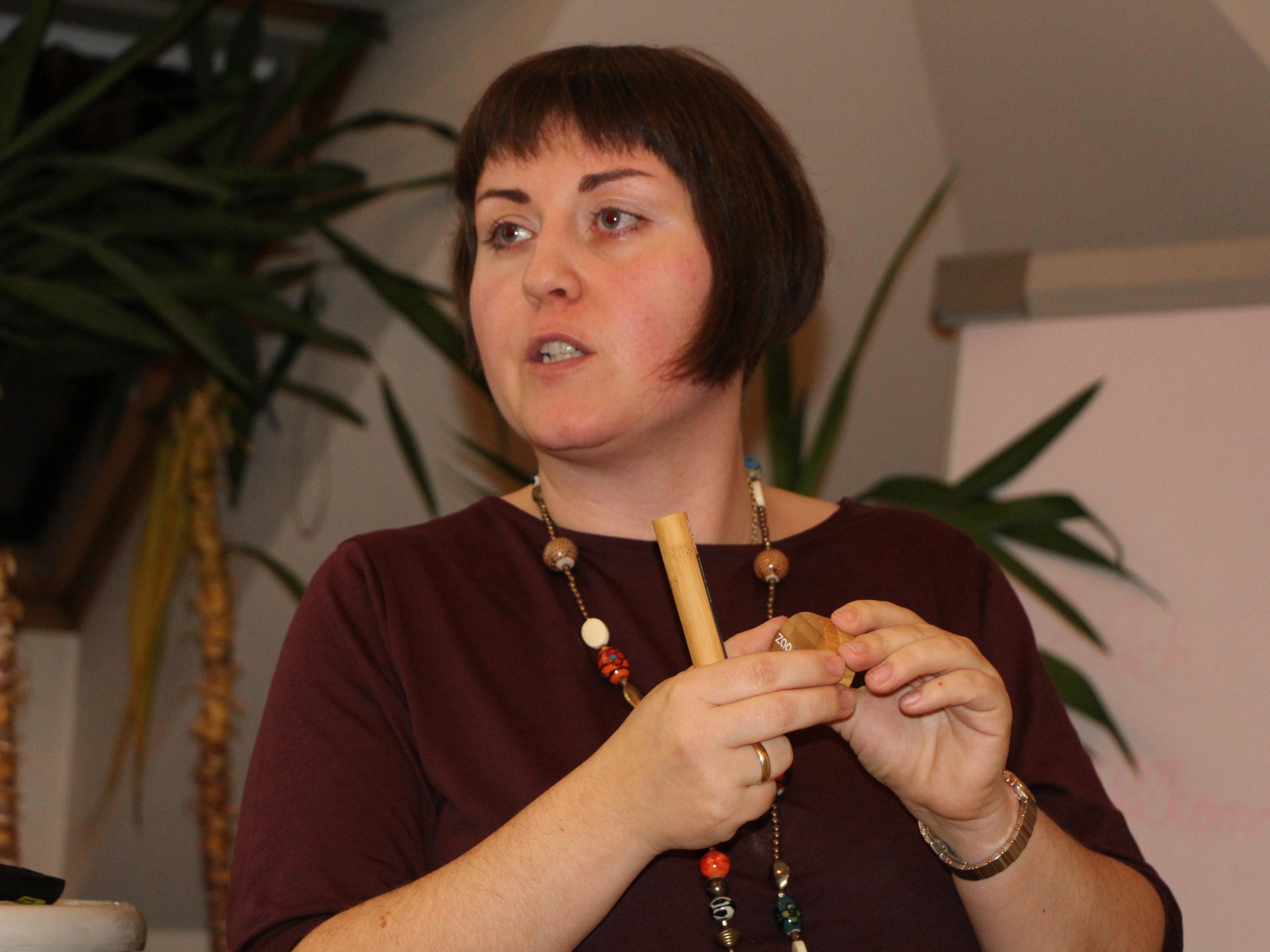 Corinna Amann hatte viele wertvolle Tipps, im Altag Plastik zu vermeiden.