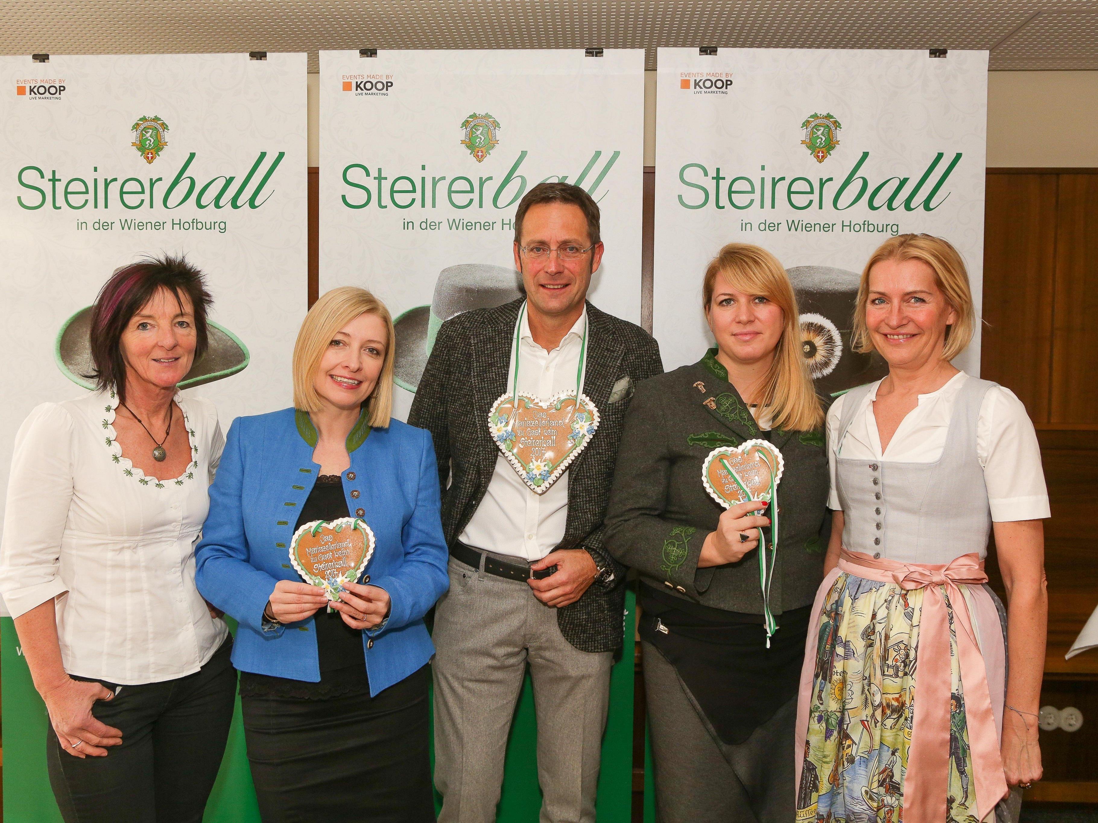 Der Steirerball findet Mitte Jänner 2017 statt.