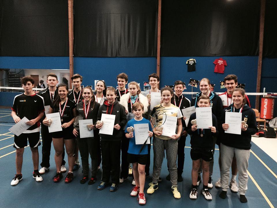 Die Teilnehmer der Jugend Landesmannschaftsmeisterschaft.