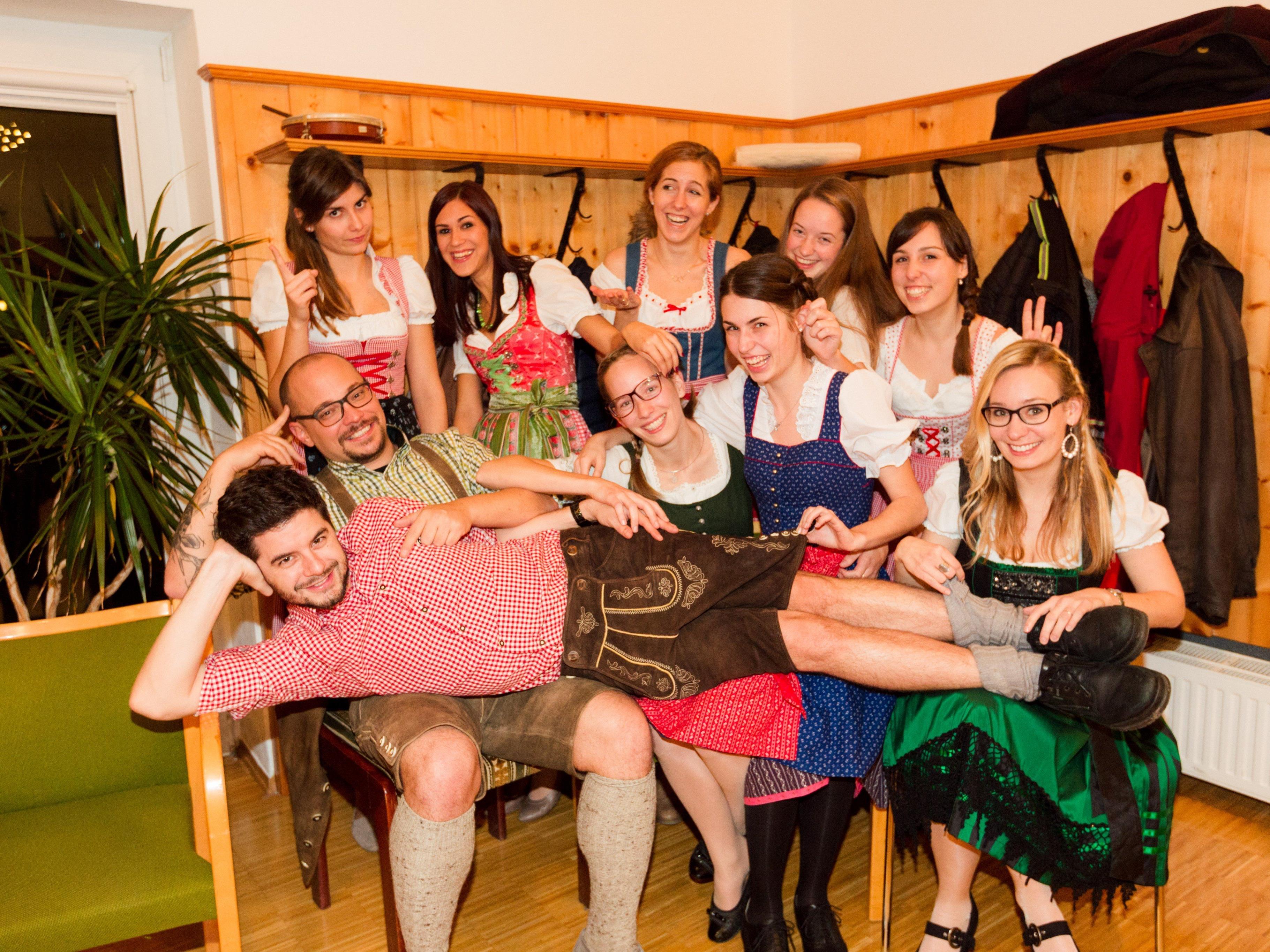 Aus dem ehemaligen Jugendchor wird nun Mögig & Mä.