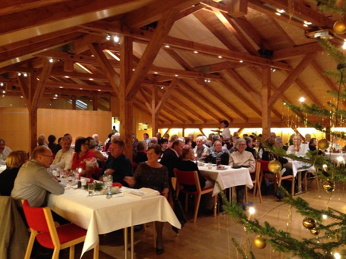 Festliche Stimmung herrschte bei der PVÖ-Weihnachtsfeier in Schwarzenberg