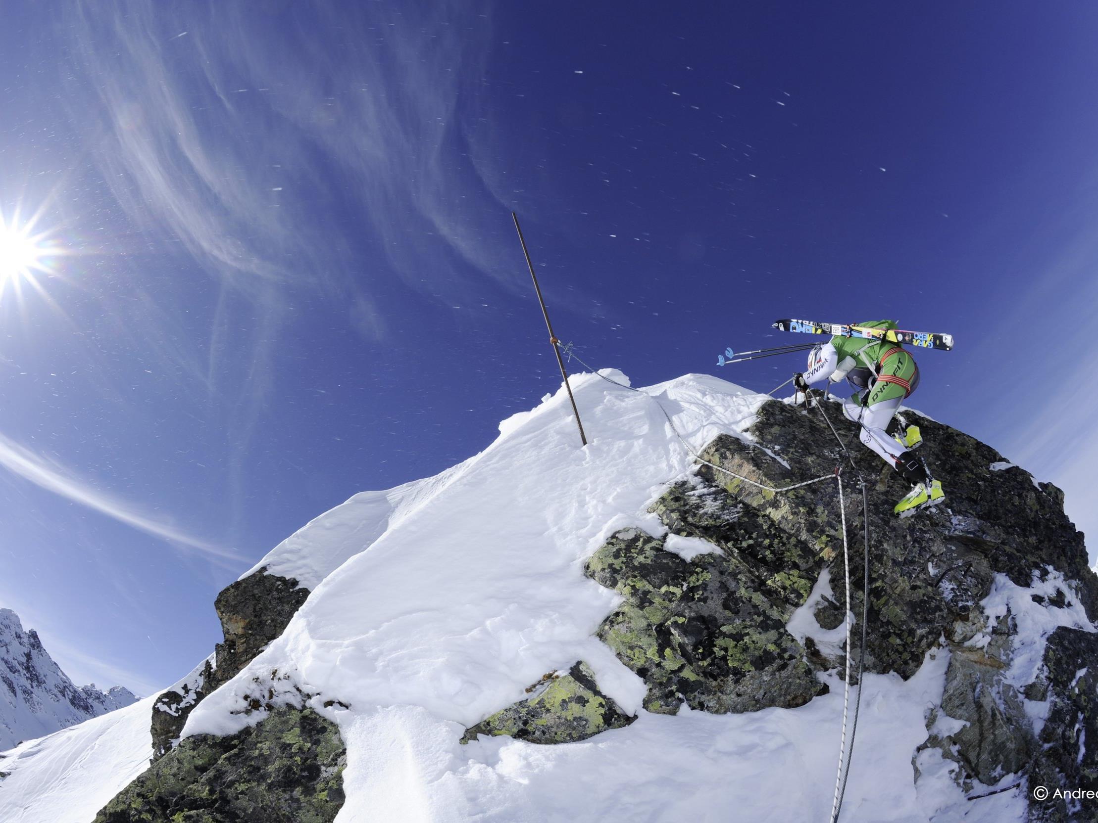 Bei der Ramskull Trophy am Freitag zeigen Skibergsteiger ihr ganzes Können.