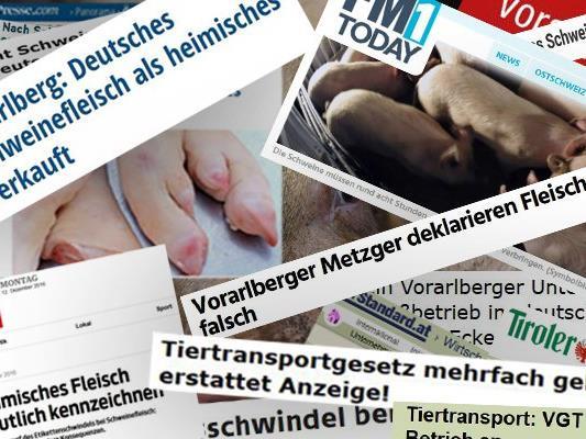 Der Vorarlberger Schweineskandal hat Spuren in der Medienlandschaft hinterlassen