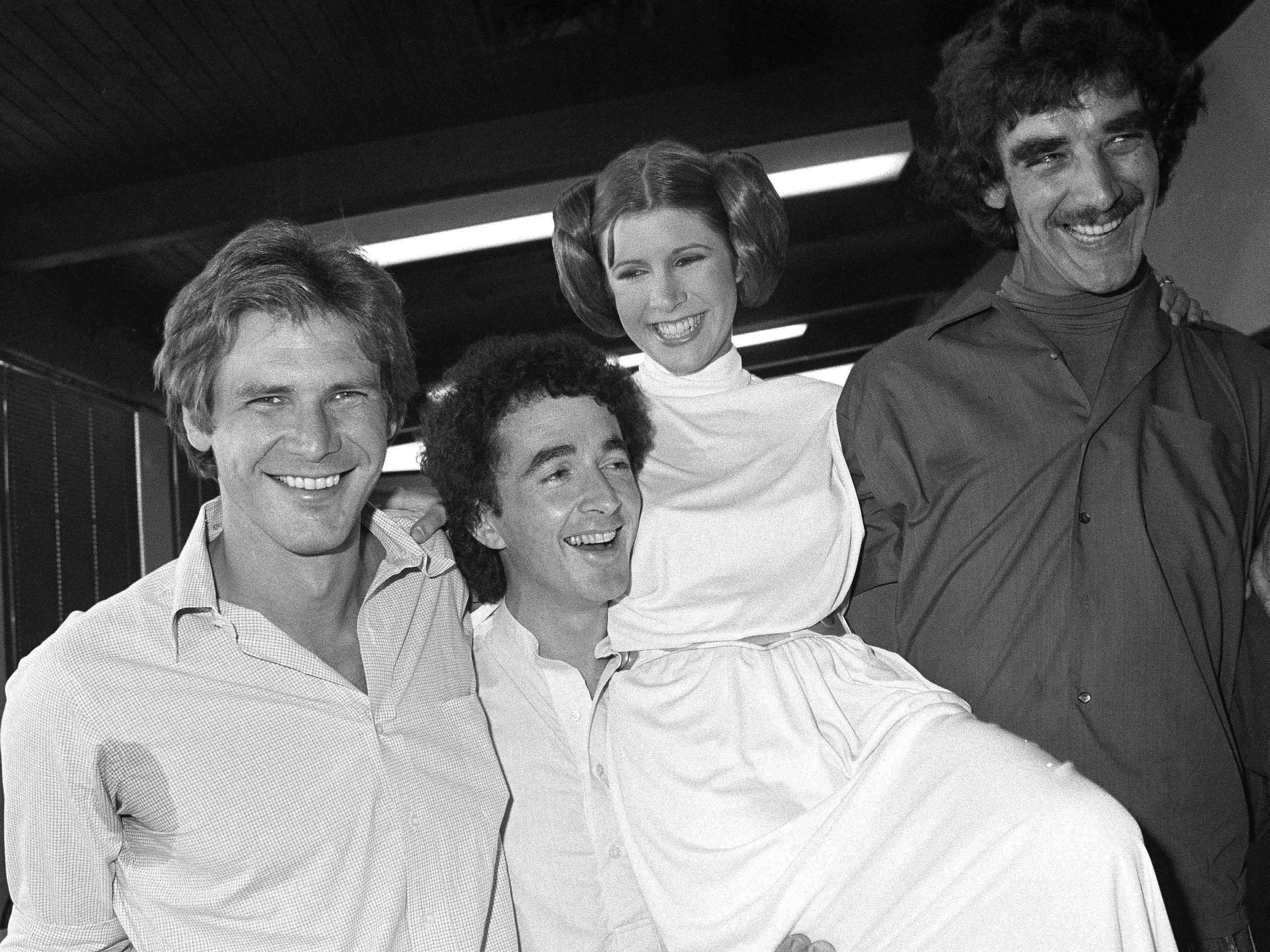 """Als heroische Prinzessin Leia in der """"Star Wars""""-Serie wurde Carrie Fisher berühmt."""
