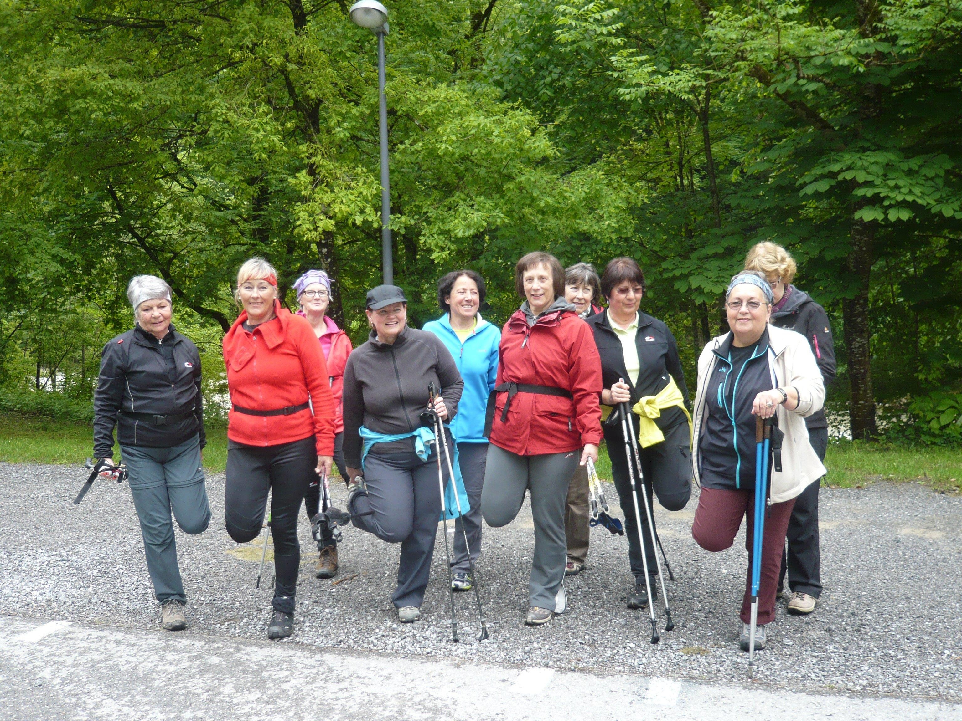 Kneipp Nordic Walking Gruppe