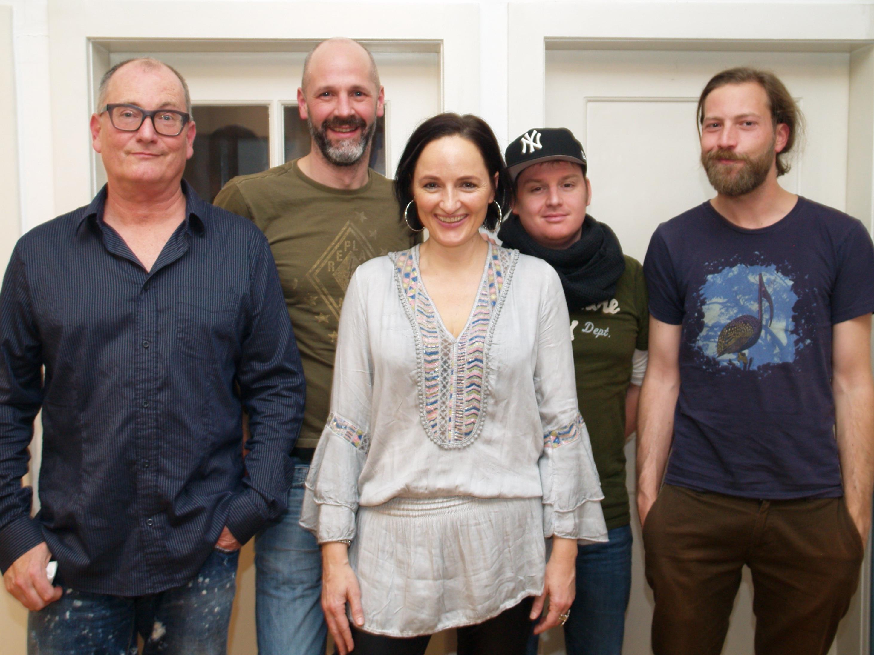 Aja Eberle - Zischg gastierte am Wochenende mit ihrer Soulgroup im Alten Kino.