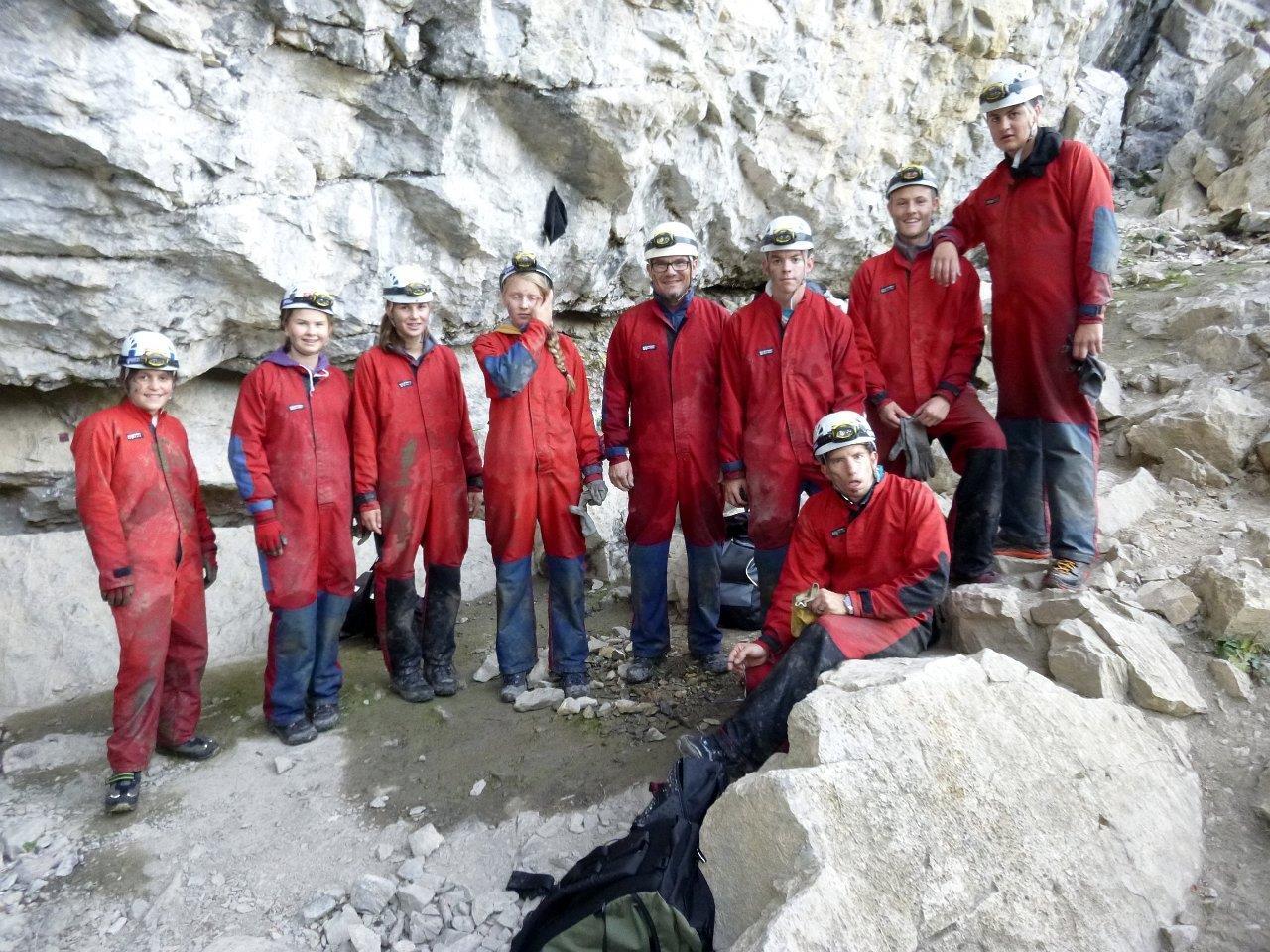 Unsere CaEx nach der Höhlentour