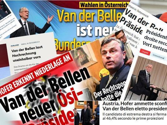 International stand die Wahl zum neuen Bundespräsidenten unter scharfer Beobachtung.