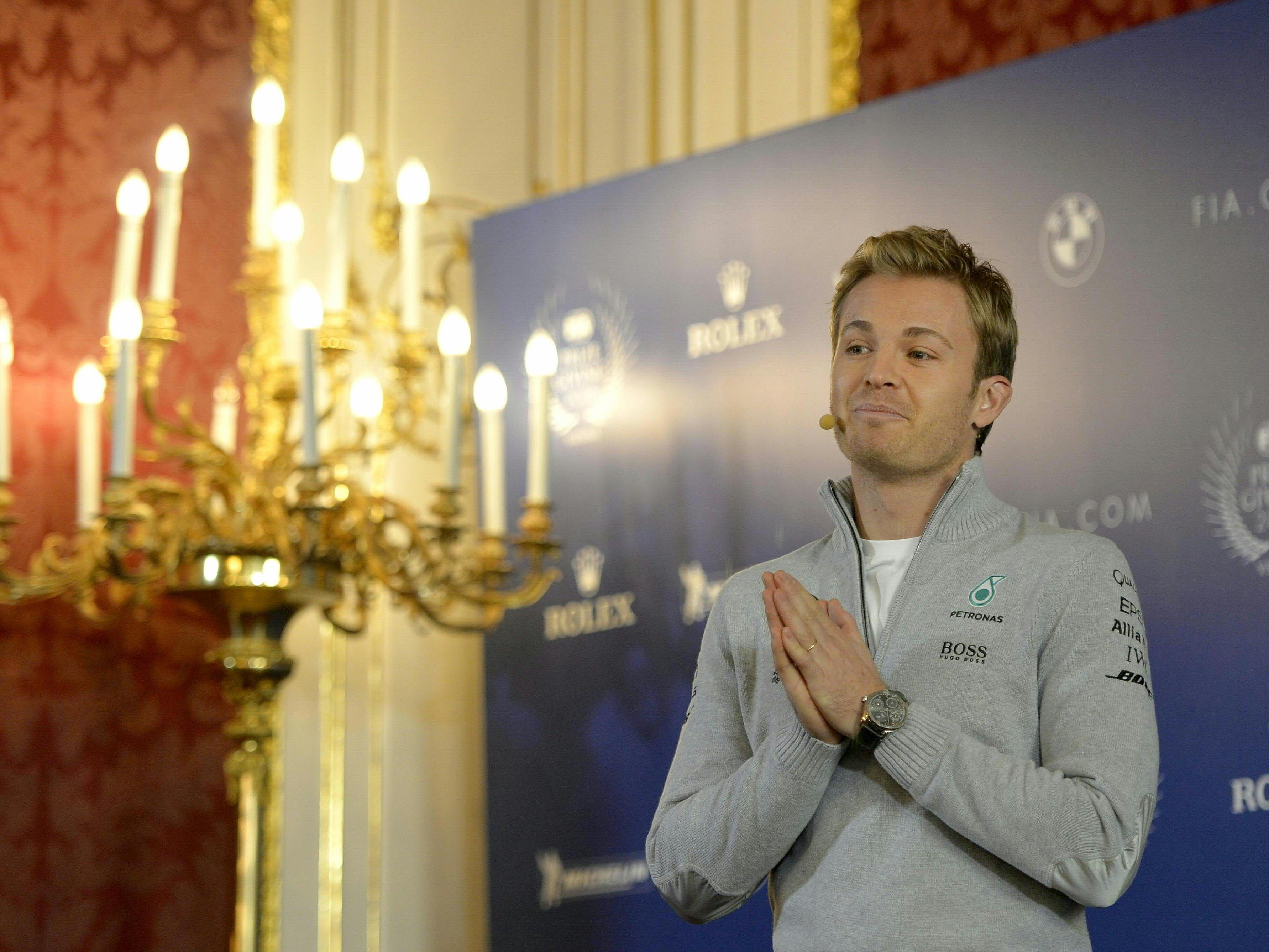 Rosberg am Freitag in Wien.