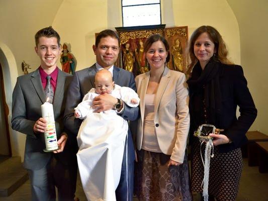 Taufe von Constantin Julian Pösel.