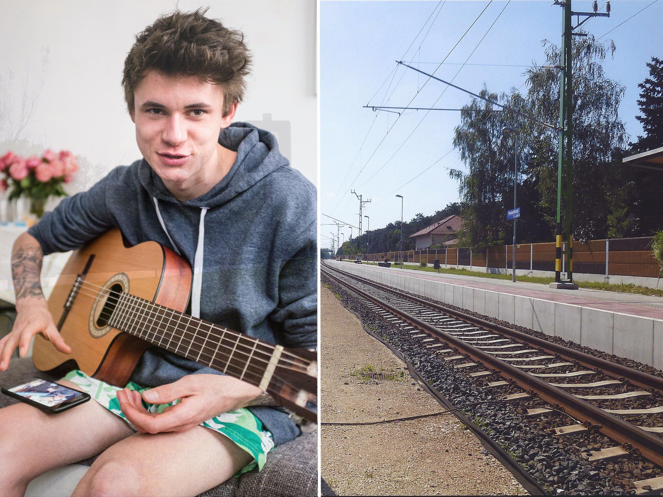 Vladyslav Shyshko wurde an einem fünf Kilometer entfernten Bahngleis aufgefunden.