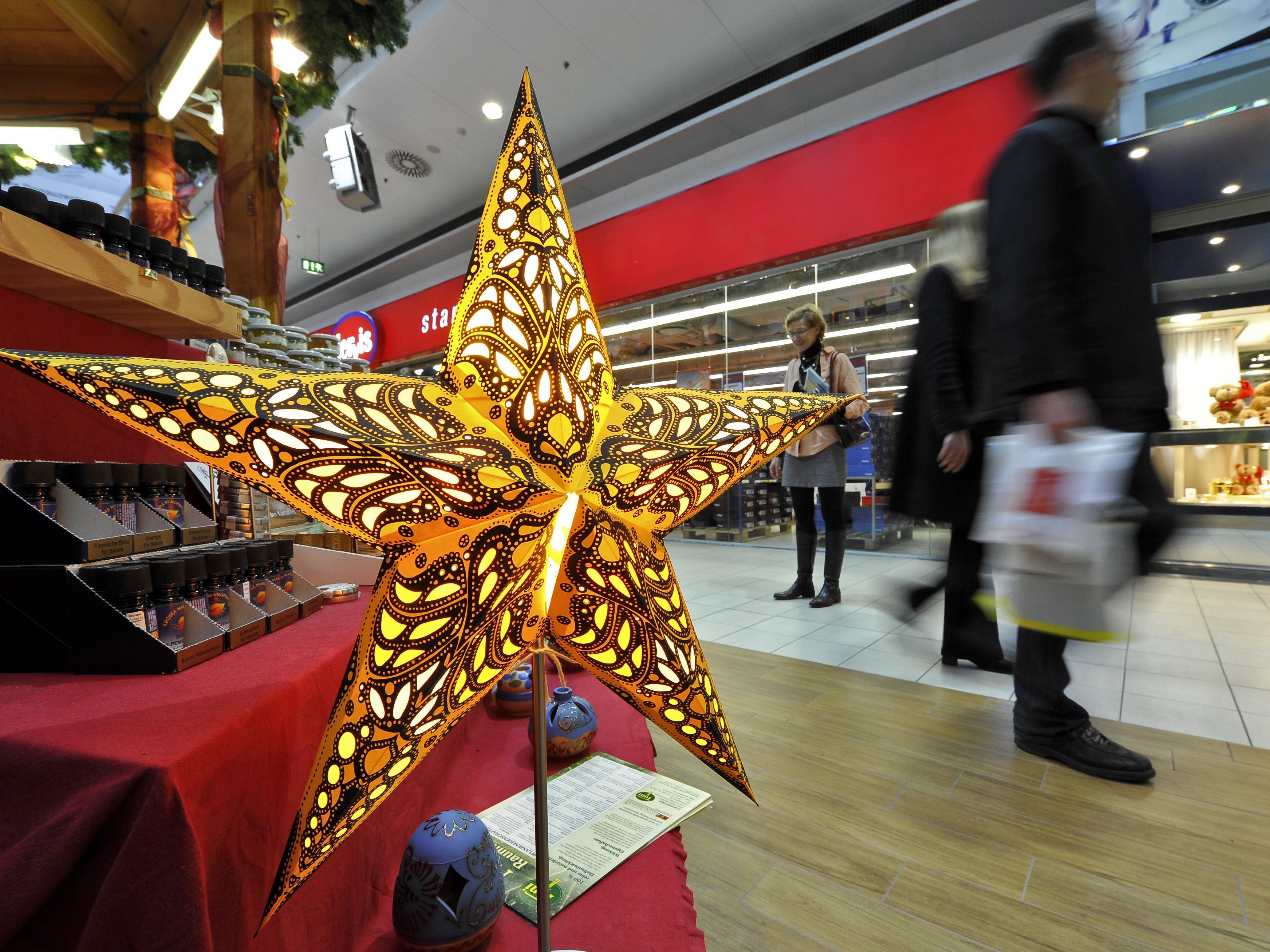 Die Umsätze im Wiener Weihnachtsgeschäft bewegen sich derzeit auf dem Niveau des Vorjahres