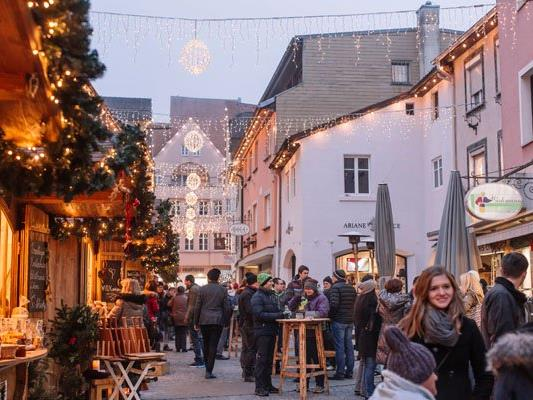 Christkindlmarkt in der Mühlgasse,Bludenz.