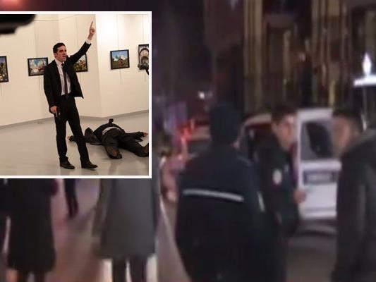 Der Angriff ereignete sich während einer Ausstellungseröffnung im Cagdas Sanatlar Merkezi