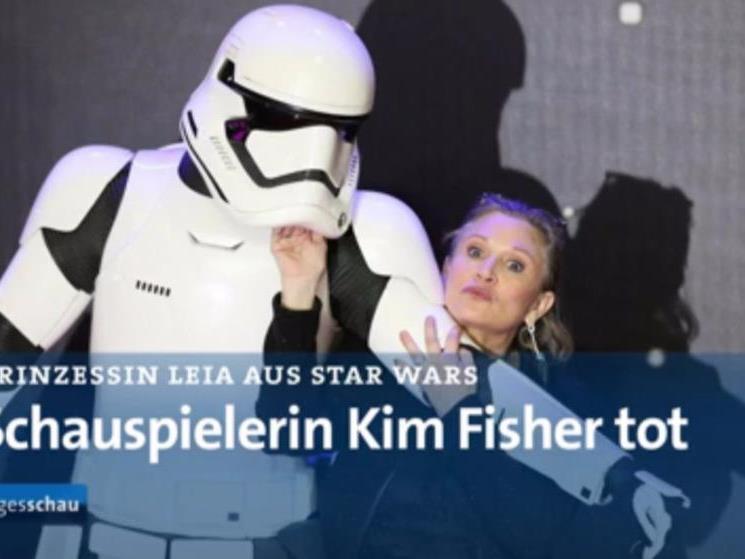 Tagesschau erklärte die deutsche Schauspielerin Kim Fisher für tot.