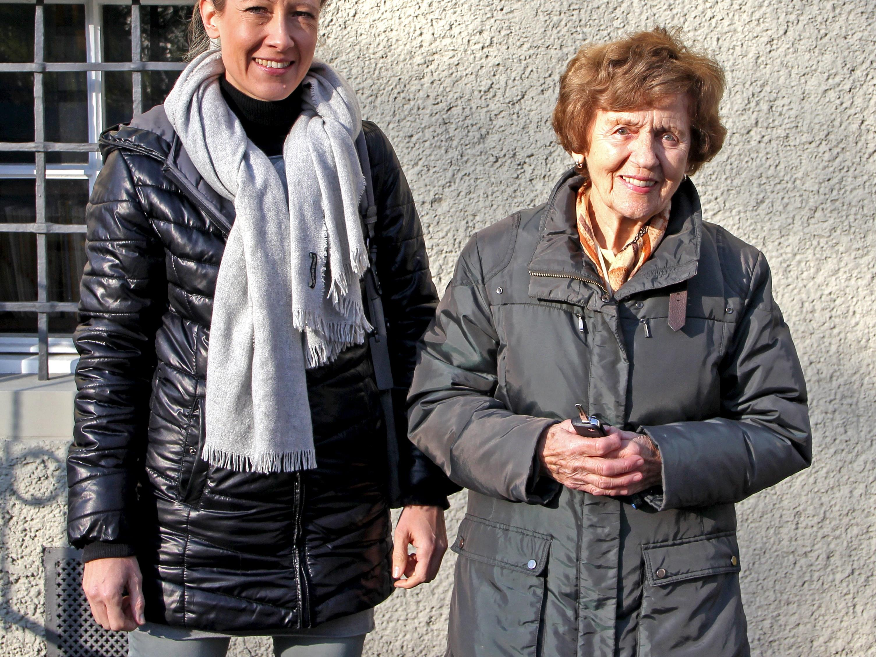 Simone Bösch und Gertrude Klien