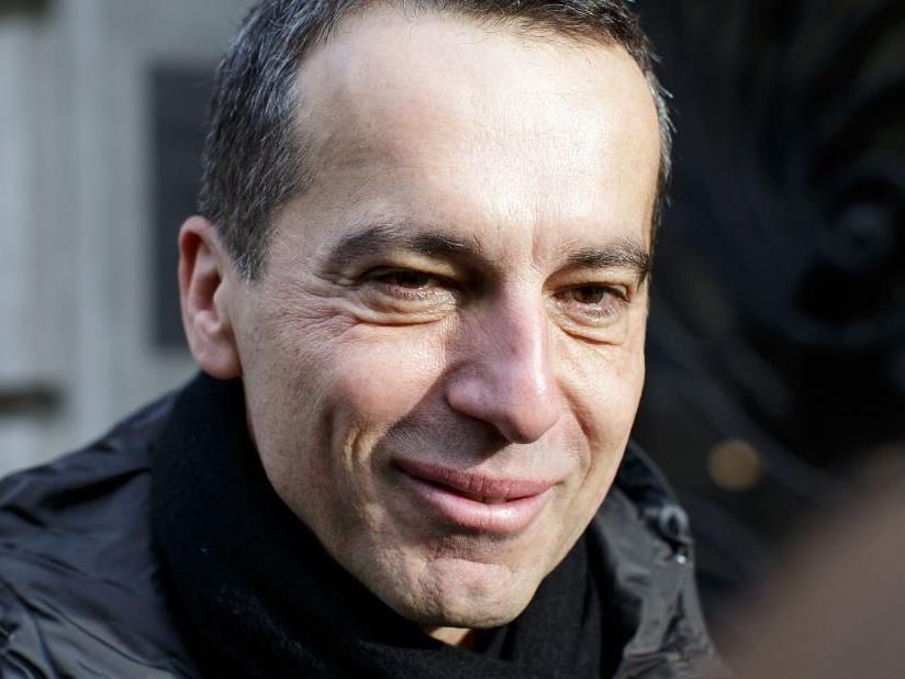 Bundeskanzler Christian Kern.