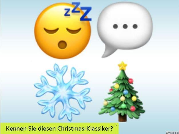 weihnachts songs in emojis quiz national vol at. Black Bedroom Furniture Sets. Home Design Ideas