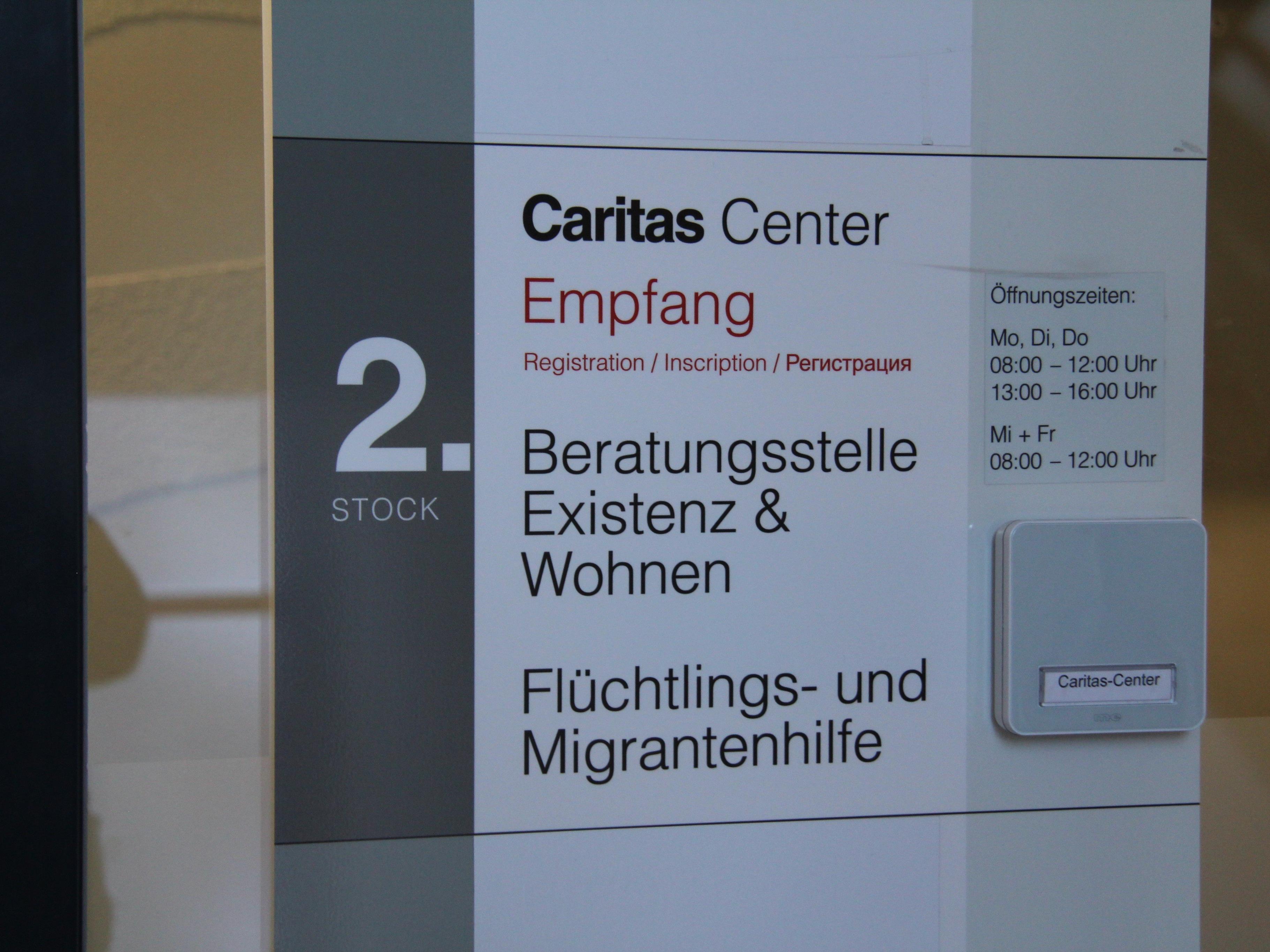 Die Caritas reagiert auf sinkende Flüchtlingszahlen.