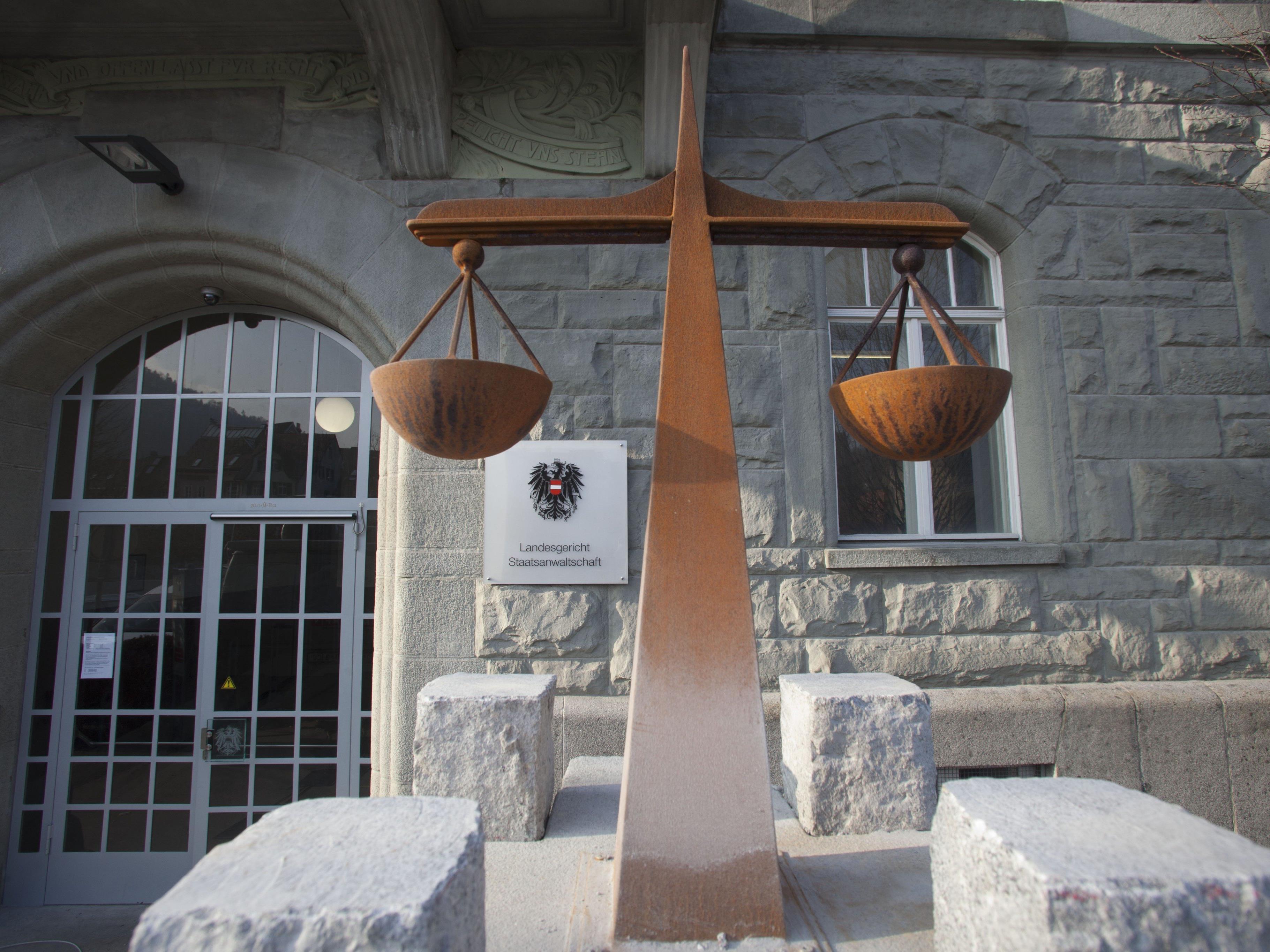 Am Dienstag beginnt der Prozess im Landesgericht Feldkirch.