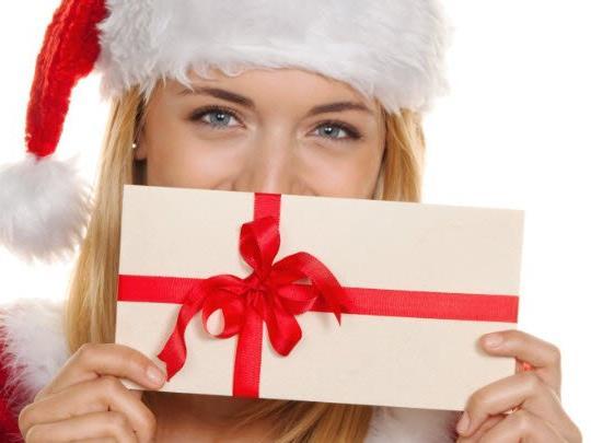 Gutscheine sind beliebte Weihnachtsgeschenke