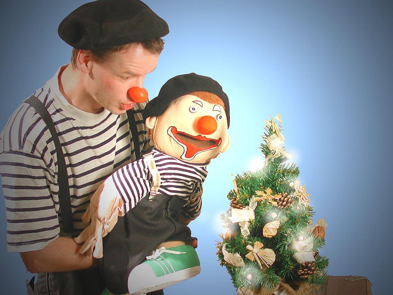 Clown Dido wird die Kinder im kleinen Löwensaal begeistern!
