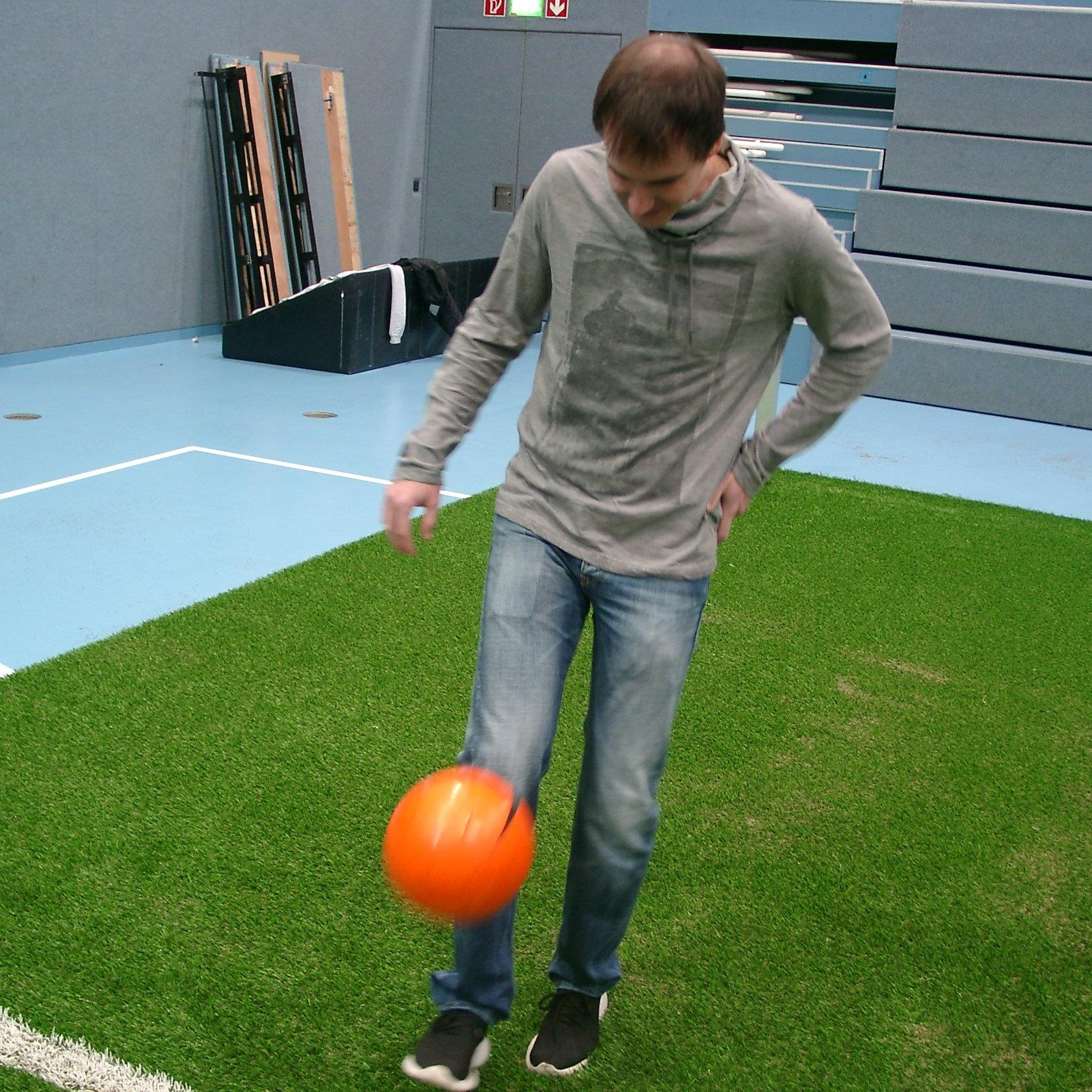 Trotz Verletzung will Markus Grabherr in der Halle spielen