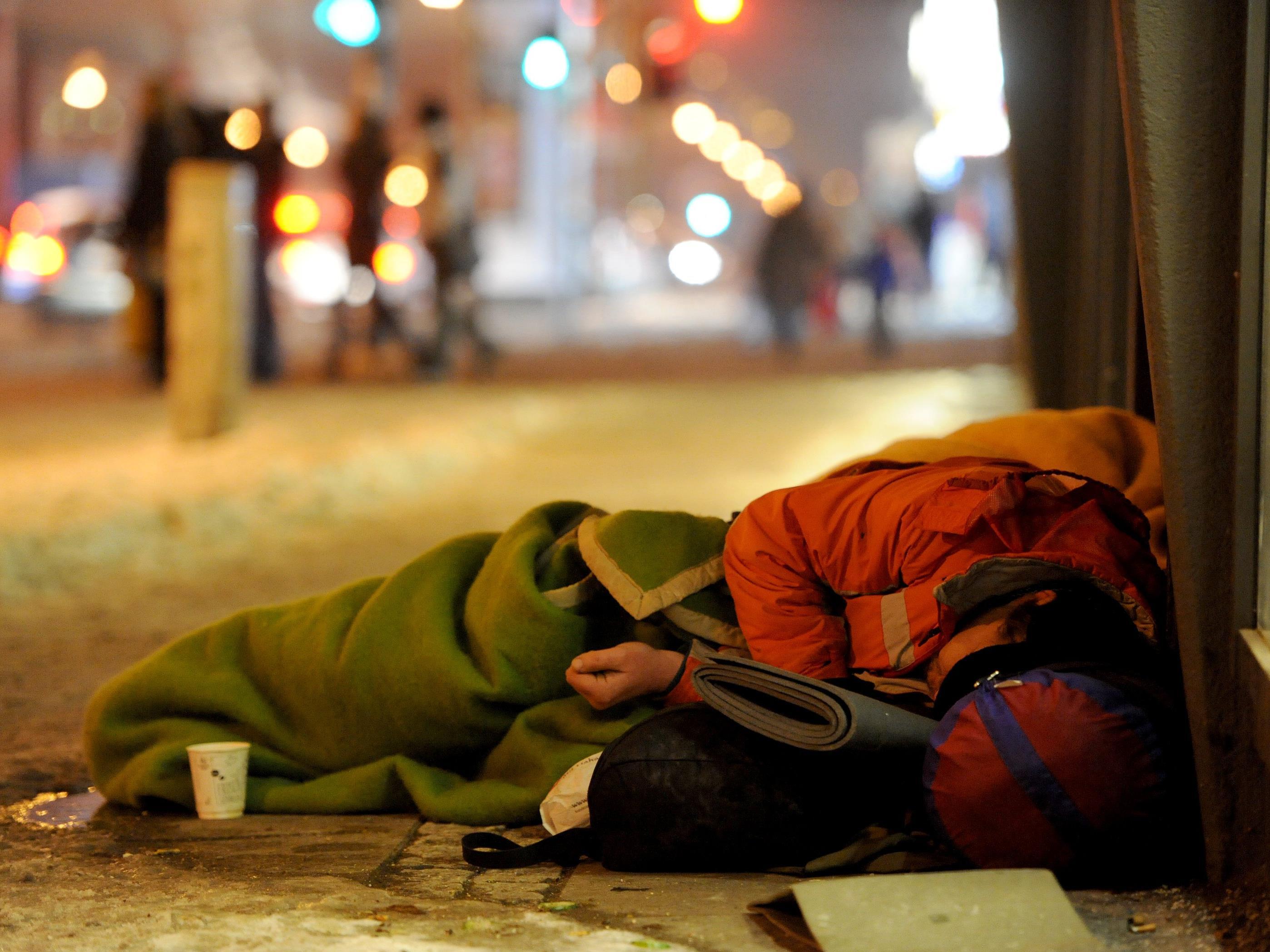 Ein Obdachloser wurde in Serbien von Kindern getötet.