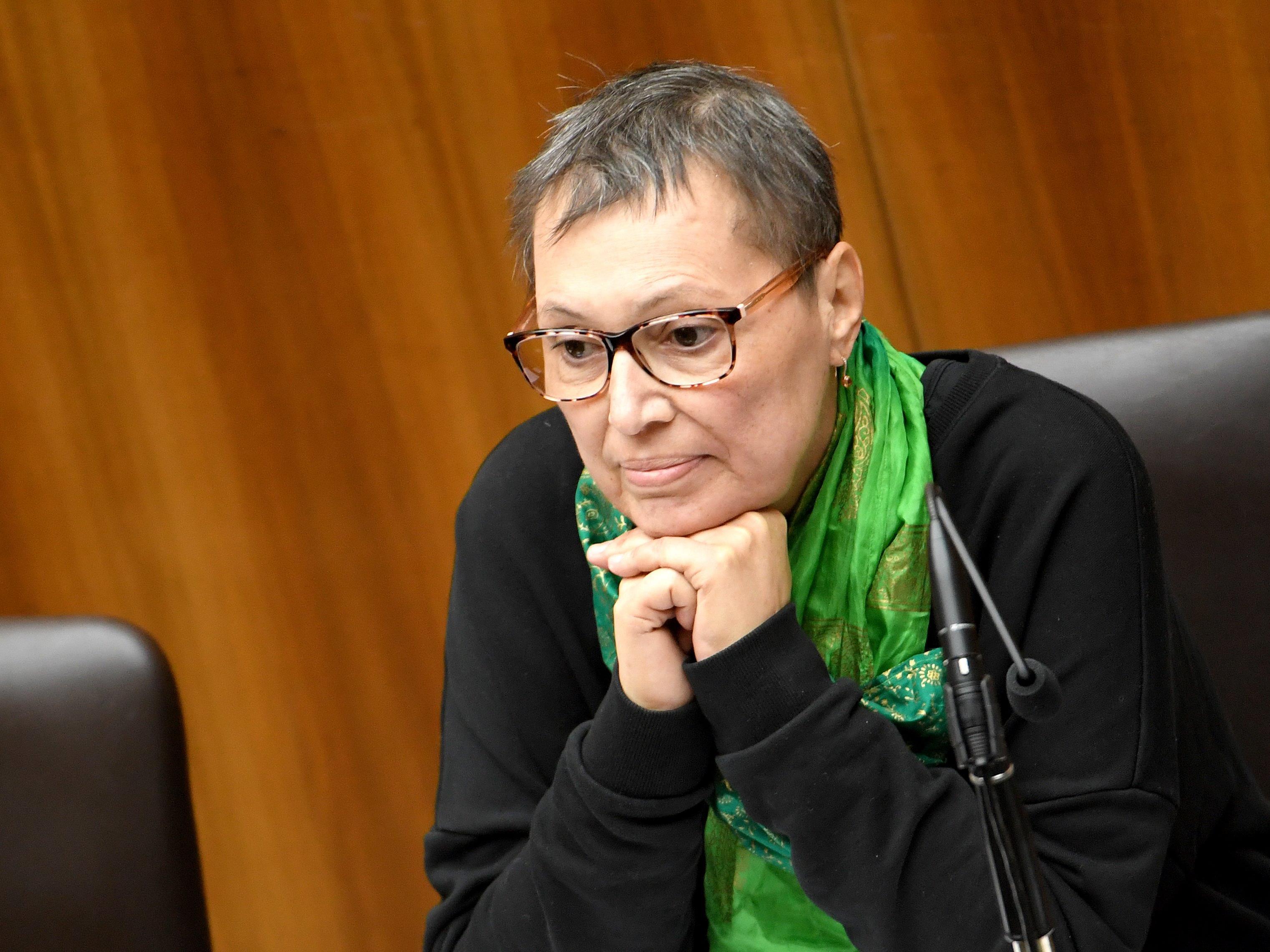 Sabine Oberhauser ist auf dem Weg zur Besserung.