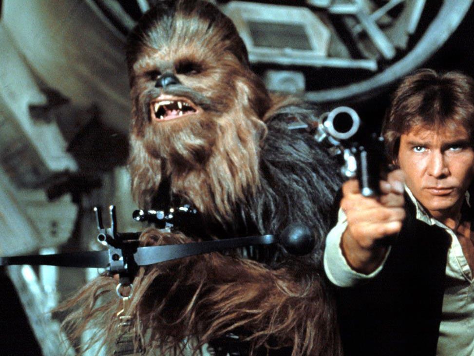 Legendär: Harrison Ford als Han Solo.
