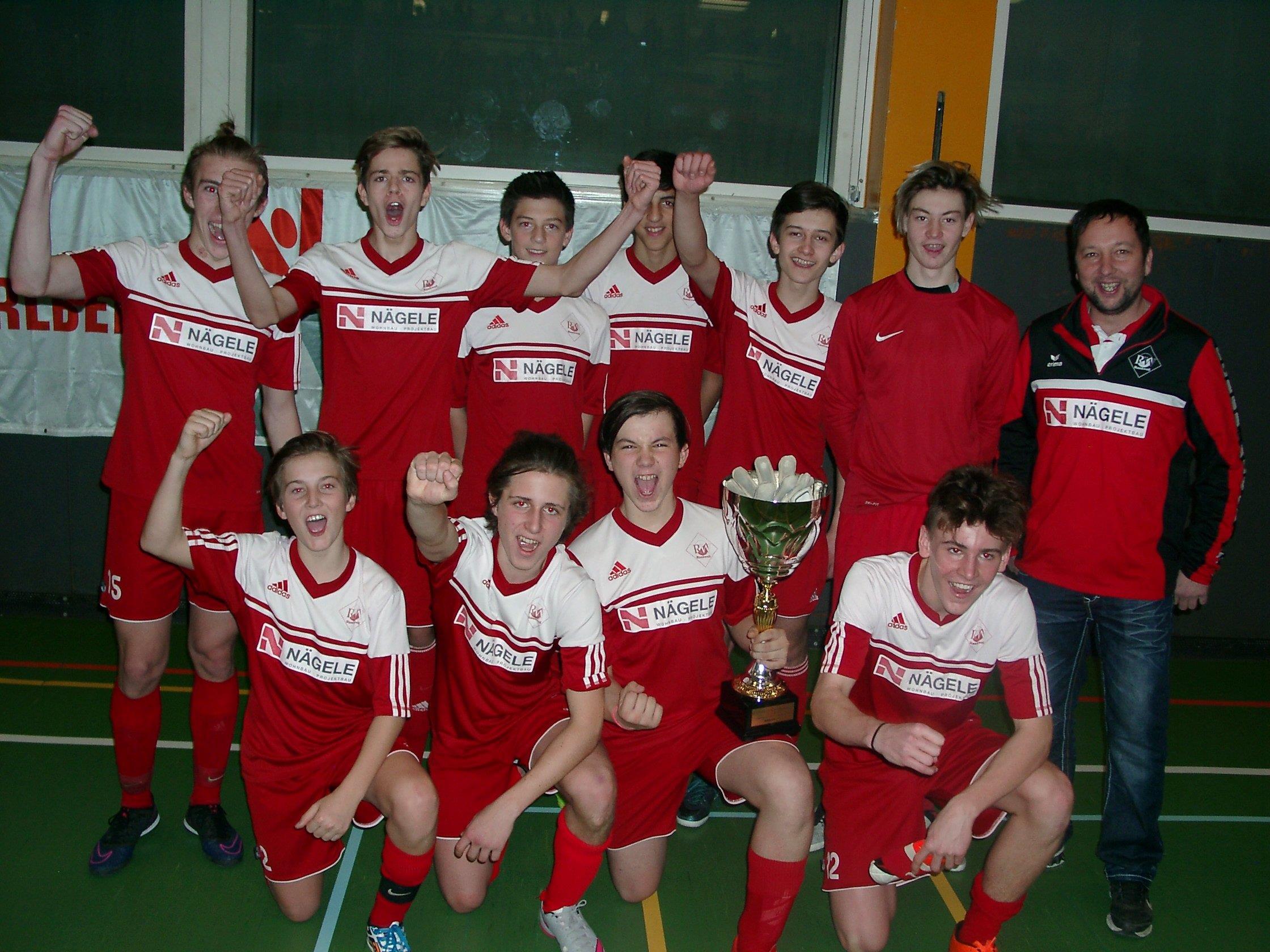 Rankweils U-16-Elf wurde Futsal Landesmeister