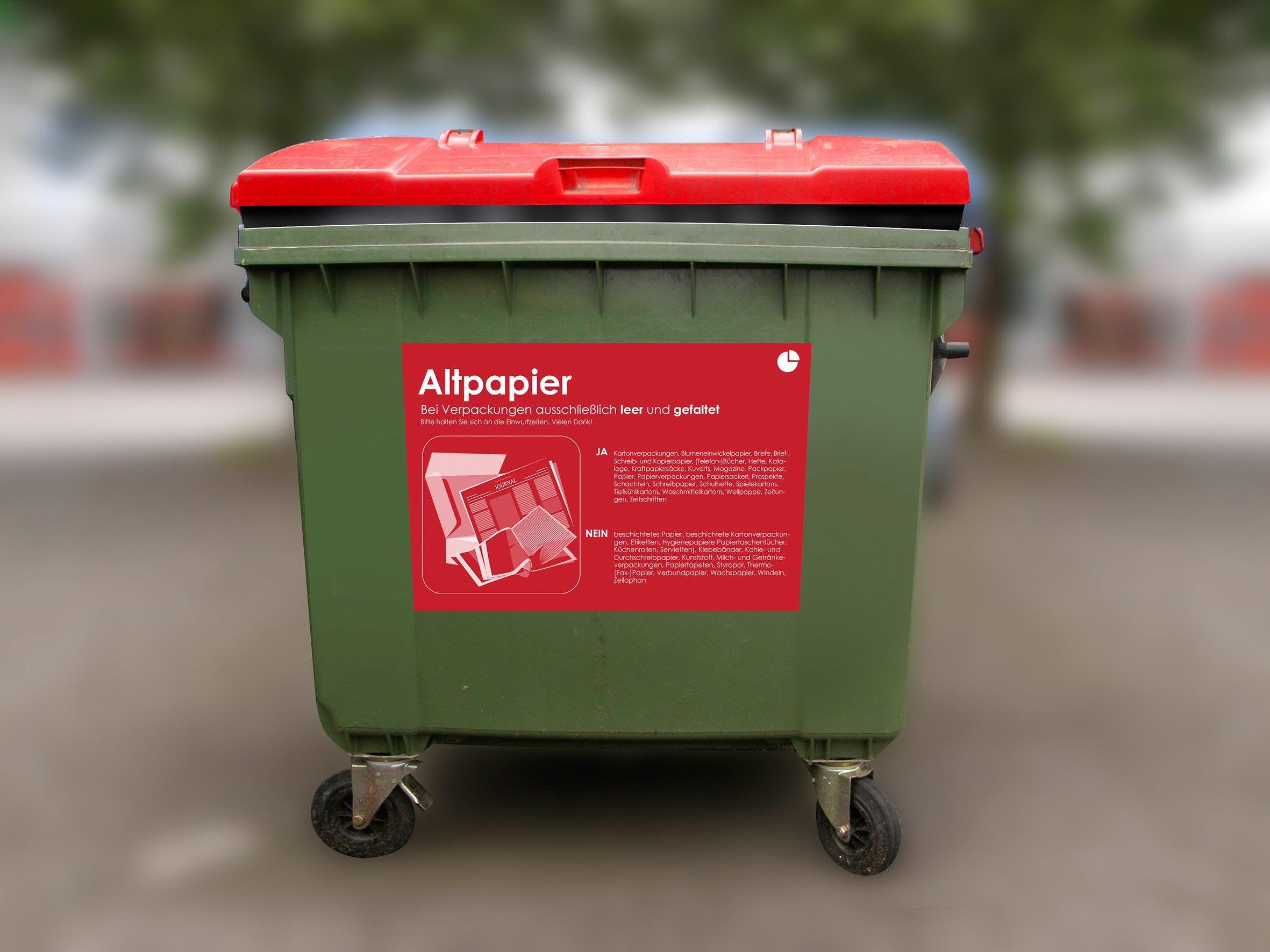 Das neue Abfallsystem hat sich bewährt.