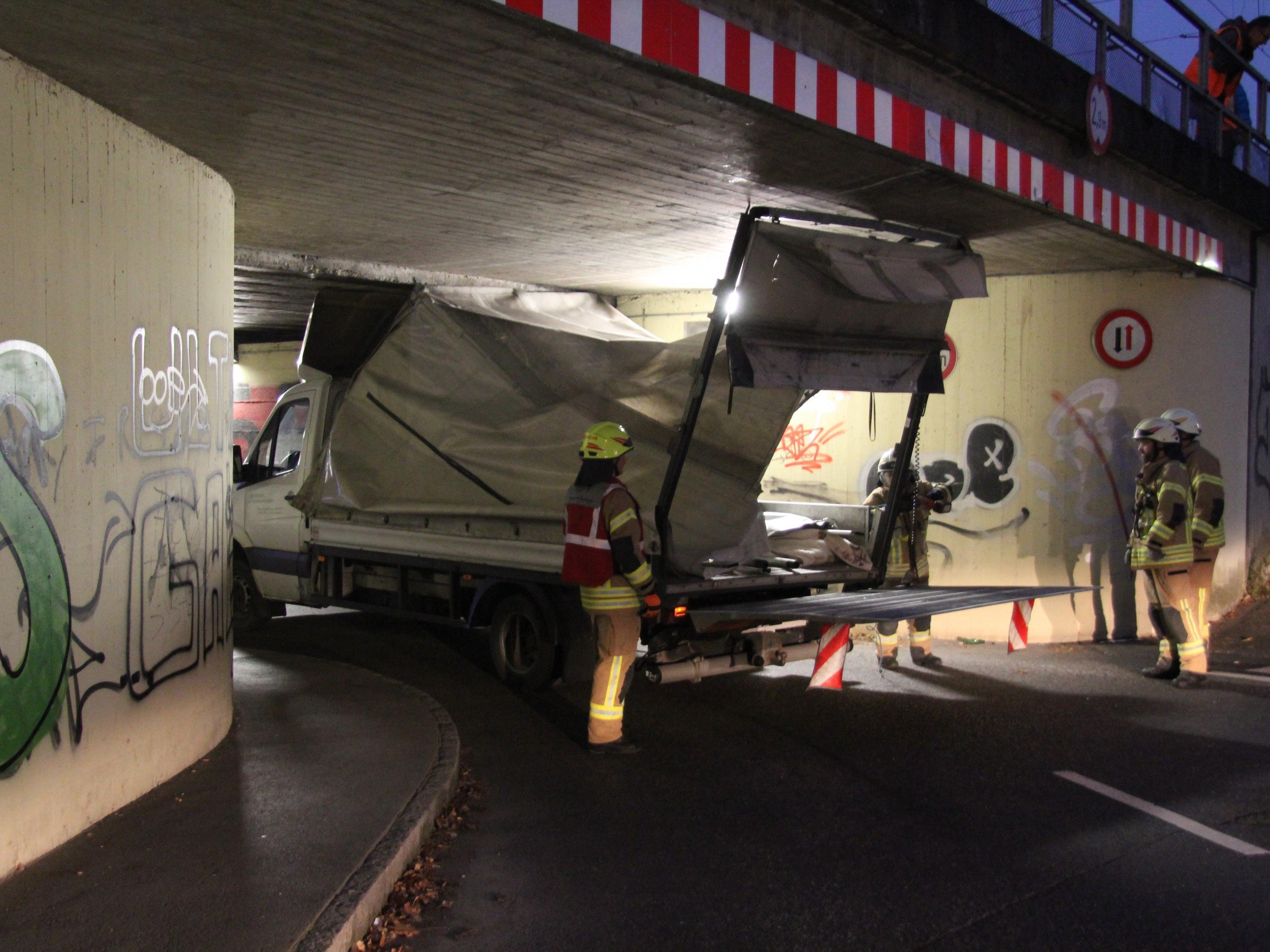 Der Unfall ereignete sich in der Schlachthausstraße in Dornbirn.