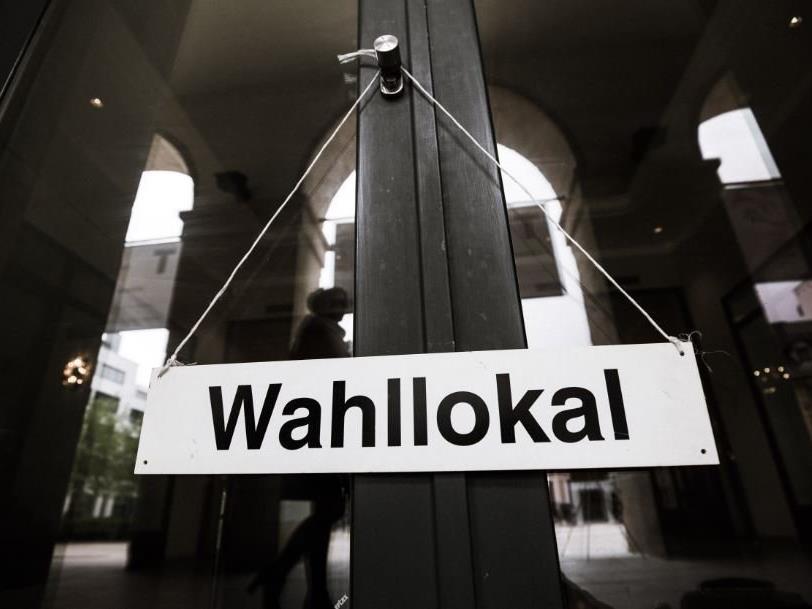 Wahllokal in Bregenz.