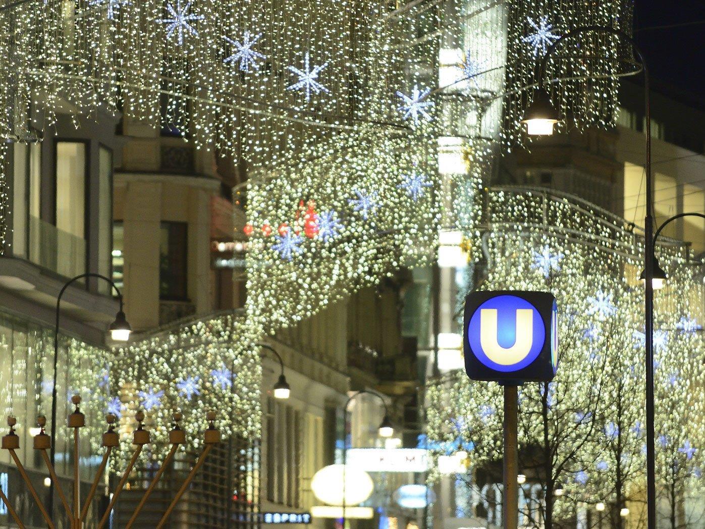 Auch am 24. Dezember 2016 sind die Wiener Linien unterwegs - mit kleinen Änderungen