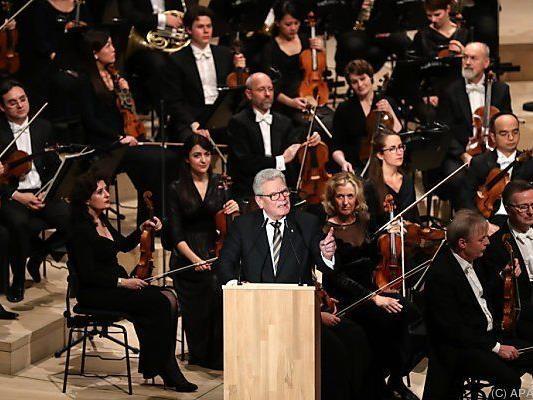 Offizielle Eröffnung der Elbphilharmonie durch Gauck