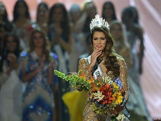 Die neue Miss Universe wurde von ihren Gefühlen übermannt