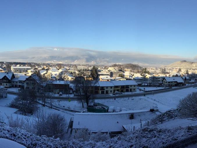Röthis im Schnee - Danke an Mario Schwarz für das tolle Bild.